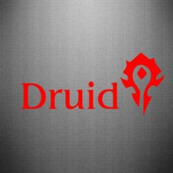 Наклейка Druid Orc
