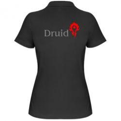 Женская футболка поло Druid Orc - FatLine