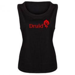 Женская майка Druid Orc - FatLine