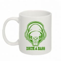 Кружка 320ml Drum n Bass