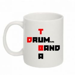 Кружка 320ml Drum&Tuba Band - FatLine