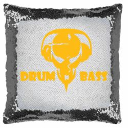Подушка-хамелеон Drumm Bass