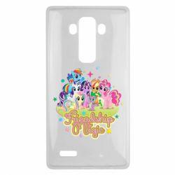 Чохол для LG G4 Дружба це чудо - FatLine
