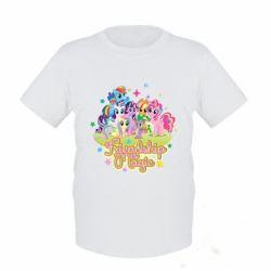 Дитяча футболка Дружба це чудо - FatLine