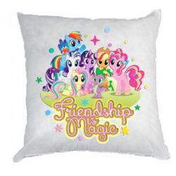 Подушка Дружба-это чудо