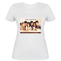 Женская футболка Друзья в сборе