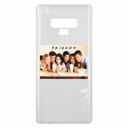Чехол для Samsung Note 9 Друзья в сборе