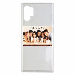 Чехол для Samsung Note 10 Plus Друзья в сборе