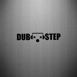 Наклейка Dub Step eyes - FatLine