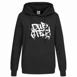 Женская толстовка Dub Step Граффити