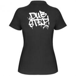 Женская футболка поло Dub Step Граффити - FatLine