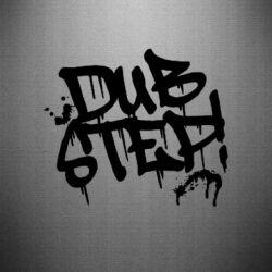 Наклейка Dub Step Граффити - FatLine