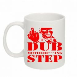 Кружка 320ml Dub Step mother***ng - FatLine