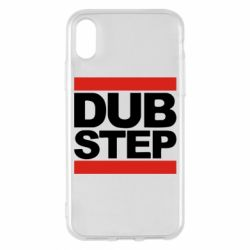 Чехол для iPhone X Dub Step - FatLine