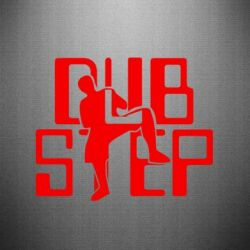 Наклейка DubStep Logo - FatLine
