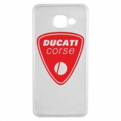 Чехол для Samsung A3 2016 Ducati Corse