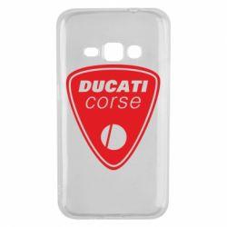Чехол для Samsung J1 2016 Ducati Corse