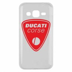Чехол для Samsung J2 2015 Ducati Corse