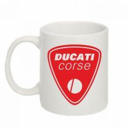 Кружка 320ml Ducati Corse - FatLine