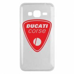 Чехол для Samsung J3 2016 Ducati Corse