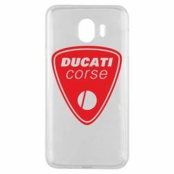 Чехол для Samsung J4 Ducati Corse