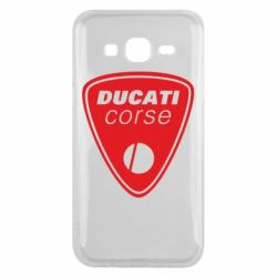 Чехол для Samsung J5 2015 Ducati Corse