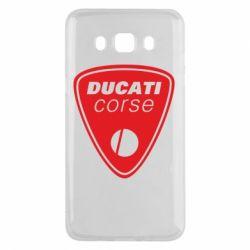 Чехол для Samsung J5 2016 Ducati Corse