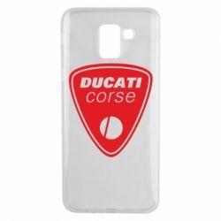 Чехол для Samsung J6 Ducati Corse