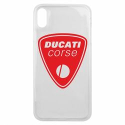 Чехол для iPhone Xs Max Ducati Corse