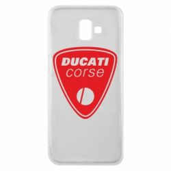 Чехол для Samsung J6 Plus 2018 Ducati Corse