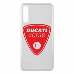 Чехол для Samsung A7 2018 Ducati Corse