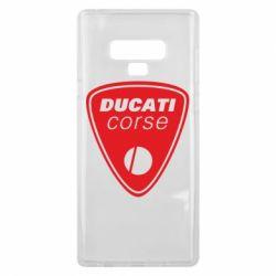 Чехол для Samsung Note 9 Ducati Corse