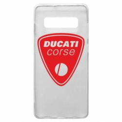 Чехол для Samsung S10+ Ducati Corse