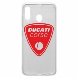Чехол для Samsung A20 Ducati Corse