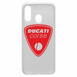 Чехол для Samsung A40 Ducati Corse