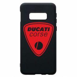 Чехол для Samsung S10e Ducati Corse