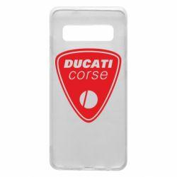 Чехол для Samsung S10 Ducati Corse