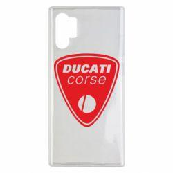 Чехол для Samsung Note 10 Plus Ducati Corse