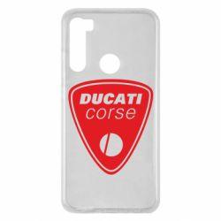 Чохол для Xiaomi Redmi Note 8 Ducati Corse