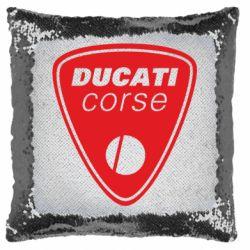 Подушка-хамелеон Ducati Corse