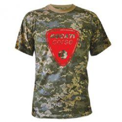 Камуфляжная футболка Ducati Corse