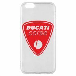 Чехол для iPhone 6/6S Ducati Corse