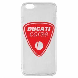 Чехол для iPhone 6 Plus/6S Plus Ducati Corse