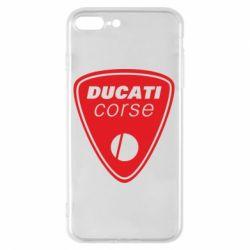 Чехол для iPhone 8 Plus Ducati Corse