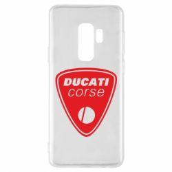 Чехол для Samsung S9+ Ducati Corse