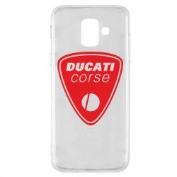 Чехол для Samsung A6 2018 Ducati Corse