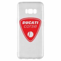 Чехол для Samsung S8+ Ducati Corse
