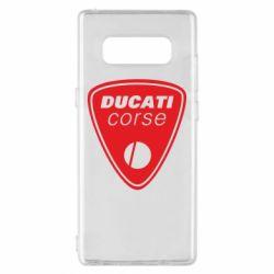 Чехол для Samsung Note 8 Ducati Corse