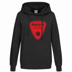 Женская толстовка Ducati Corse - FatLine