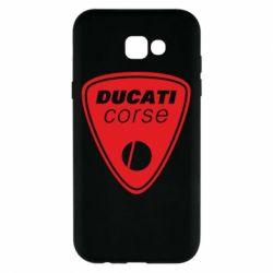 Чехол для Samsung A7 2017 Ducati Corse